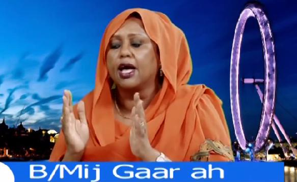 Marwa foosiya H.aadan oo sharaxaad dheeraad ah ka bixisay hishiiska arimaha Badda(Daawo).