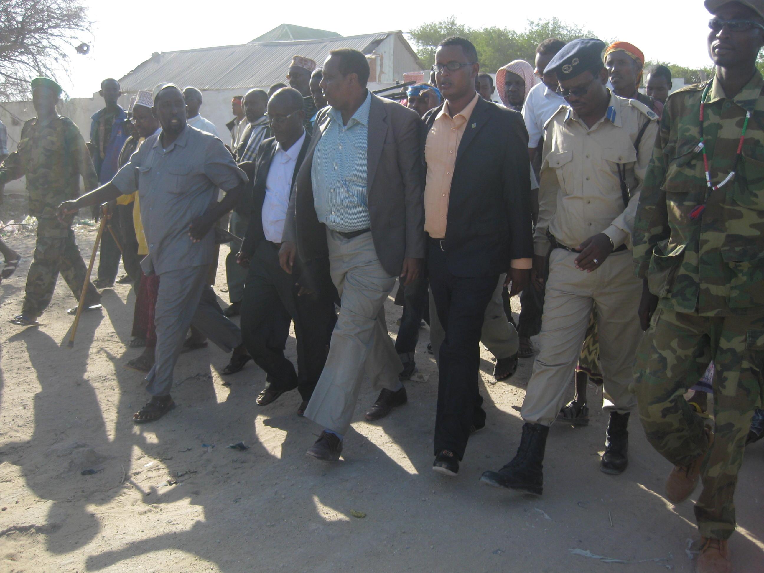 Daawo soo Dhoweeyntii wasiirada koonfur galbeed degmada lambar 50 ee Gobolka Shabeelada hoose.
