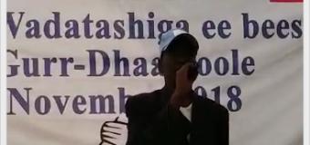 Shirweyne wadatashi Gurre Dhaamoole