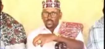 Ugaasyo, Salaadiin, Cheaf caaqilo ka soo jeedaa caasimada Jamhuuriyada Somaliland oo taageeray shirka Dirka