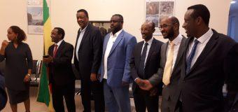 Jaaliyada Somali State ee dalka Imaaraadka Carabta oo kulan la yeeshay Safaarada Itoobiya.