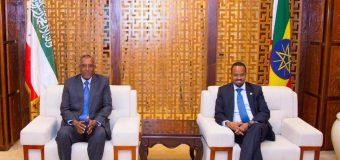 Madaxweynaha Jamhuuriyada Somaliland Mudane Muuse Biixi oo Adis Ababe la kulmay masuuliyiin sare ee Dowlada Itoobiya