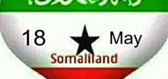 18.MAY Somaliland (Siday ku timid Xuska 18'ka MAY)